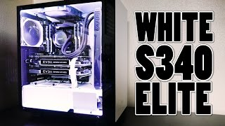 Building in the White NZXT S340 Elite