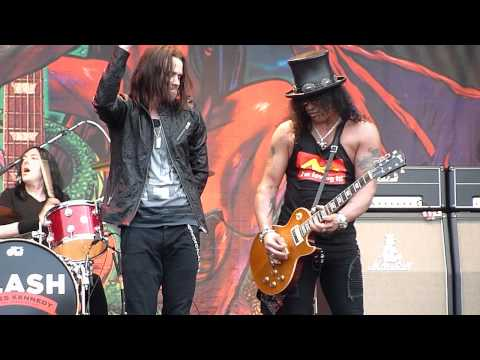Slash - Anastasia (Live - Gods Of Metal, Milan, 23.06.2012)