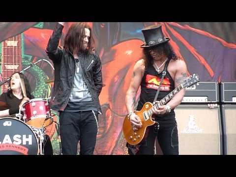 Slash - Anastasia (Gods Of Metal, Milan, 23.06.2012)