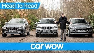 BMW X3 vs Audi Q5 vs Volvo XC60 2018 - which is best? | Head-to-Head