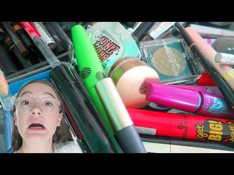 Decluttering   Mascara   Eyeshadow   Eyebrow   FionaFrills Vlogs