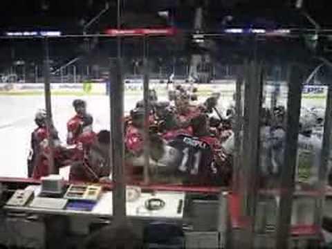 AHL Chicago Wolves v Syracuse Crunch Pre-Game Fight