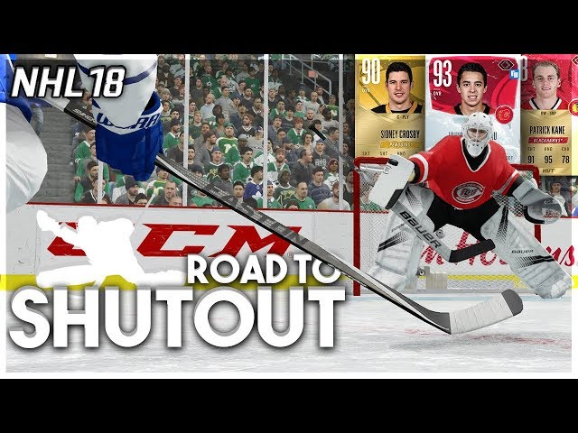 NHL 18 ROAD TO SHUTOUT 5 BEST PACK OF ALL TIME