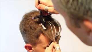 Pompadour haircut- How to Modernize a Pompadour Mens Hair Coloring Highlights