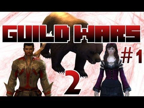 Let's Play Guild Wars 2 -  Two Heros Begin an Epic Adventure - Episode 1
