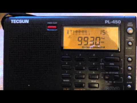 Tecsun PL450 World of Radio on WTWW may 25th 2013