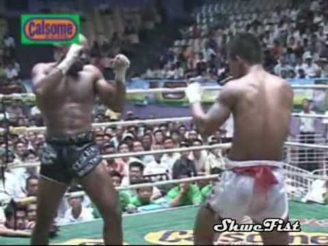 Saw Shark(Myanmar Lethwei) vs.  Cyrus Washington(USA) Image 1