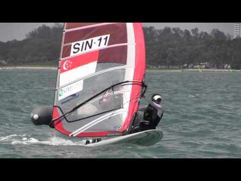 SIM 35th Singapore Open Windsurfing Championship 2016 - Day 4
