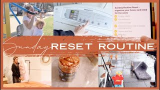 SUNDAY MUMMY RESET ROUTINE | HOUSE, CLEANING, MEALS, TODDLER, ORGANISATION, EXERCISE