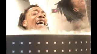 "Wiz Khalifa ""Freezes His Body Organs In Cryotherapy Chamber"""