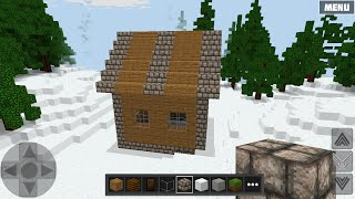 WorldCraft : How to Build a Simple Roof and House
