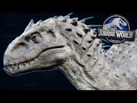 INDOMINUS REX SPECIES PROFILE! - Jurassic World Evolution