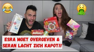 EXTREME SNOEP CHALLENGE (GAAT MIS!) | BEAN BOOZLED - HOT CHILI CHALLENGE | VLOG #16