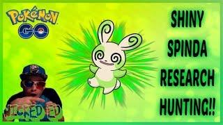 SHINY SPINDA FINALLY CAUGHT! + SHINY PICHU TRADE IN POKEMON GO !