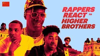 Rappers React to Higher Brothers | Migos, Lil Yachty, Playboi Carti, KYLE, & more