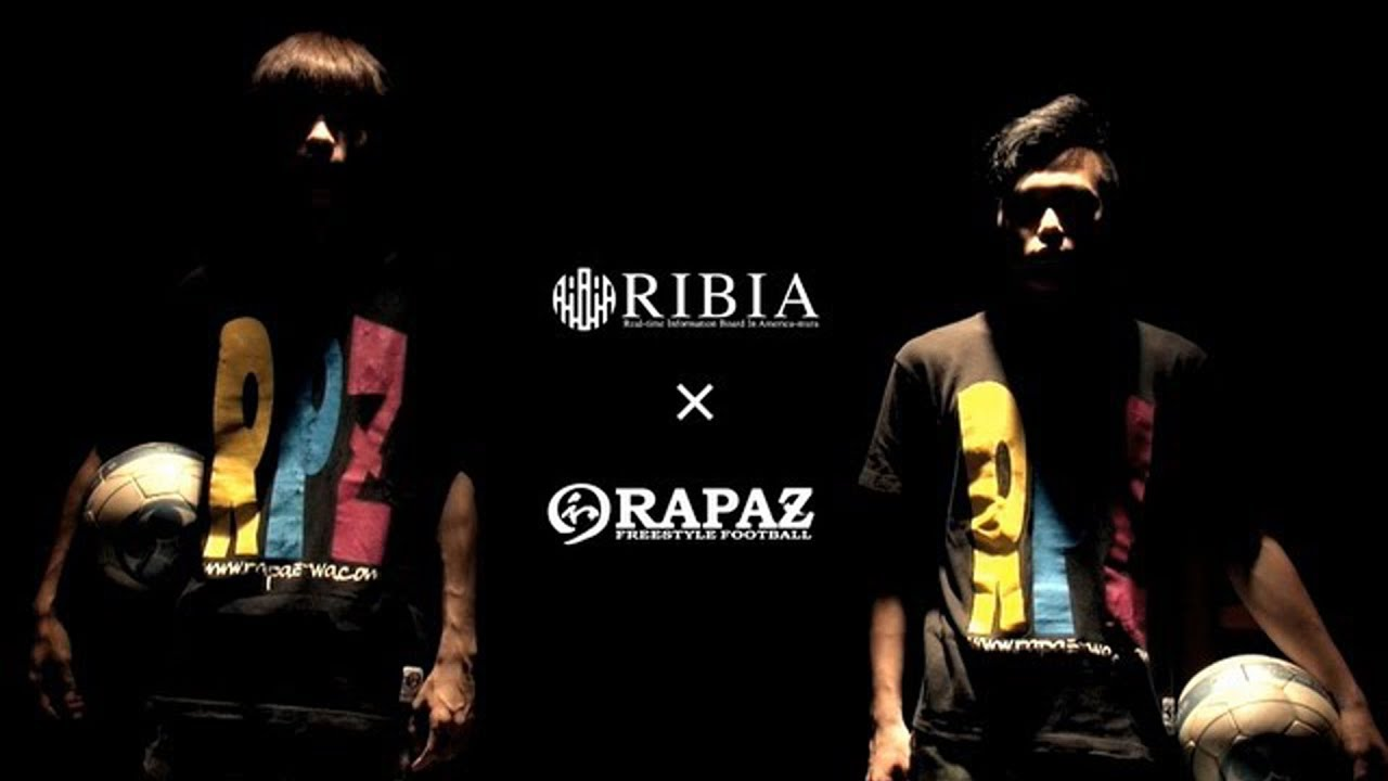 RIBIA×RAPAZ【FREESTYLEFOOTBALL×MOTIONGRAPHICS】