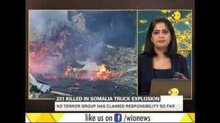 Death toll rises to 231 in Somalia explosion