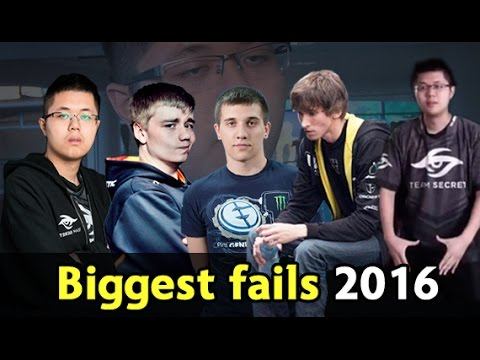 Biggest fails of 2016 — Dota 2 | dota