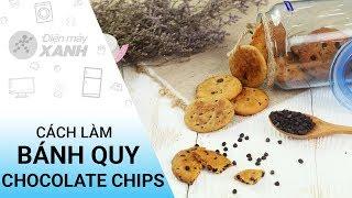 Cách làm bánh quy chocolate chip bằng chảo chống dính cực dễ | Điện máy XANH