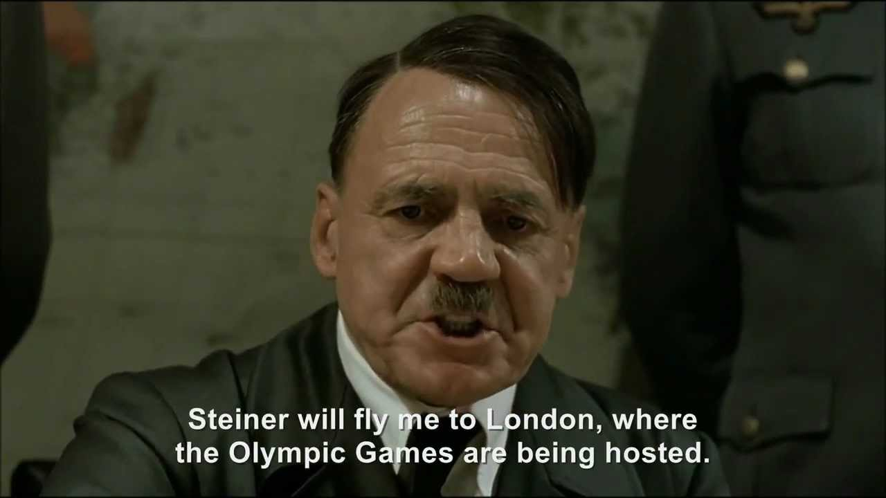 Hitler plans to participate in the London 2012 Olympic Games