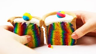 How To Make Rainbow Play Doh Cake Learn Colors And Numbers Toys