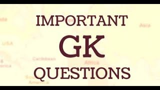 GK Questions and Answers for all Exams || GK Adda