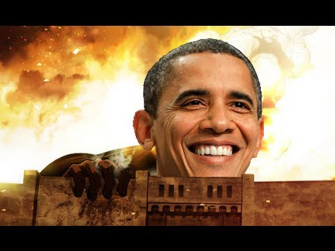 Attack on Obama Shingeki no Kyojin【 進撃の巨人 x American Politics 】