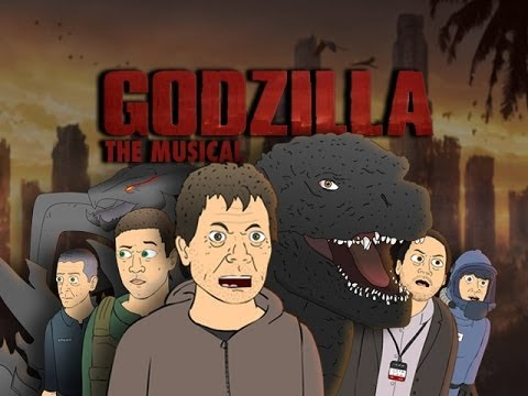 ♪ Godzilla The Musical - Cartoon Parody Song video