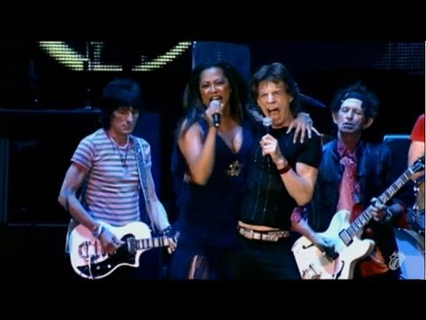 "The Rolling Stones performing ""Gimme Shelter"", live at the Shanghai Grand Stadium, 8th April 2006. ""Gimme Shelter"" was originally featured on the 1969 album ..."