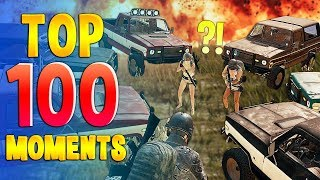 Top 100 PUBG WTF Funny Moments