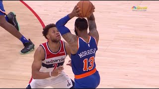Marcus Morris Gets Ejected in Preseason for Hitting Justin Anderson With Ball