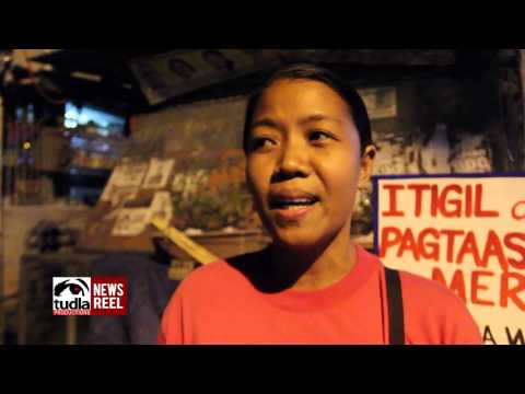 NEWSREEL: Residents of Manreza in Quezon City turns off lights vs electricity price hike