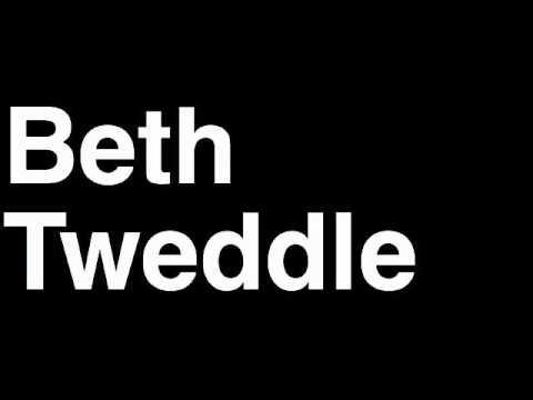 How to Pronounce Beth Tweddle Britain Bronze Medal Women's Uneven Bars London 2012 Olympics Video