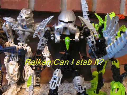 Bionicle vs Hero Factory Part 1: Furno's arrival