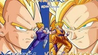 full HD pelea vegeta VS kakaroto  MOD gatos