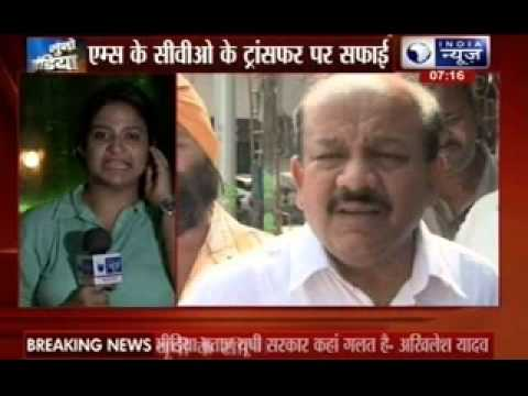 Health Minister Harsh Vardhan defends AIIMS Chief Vigilance Officer Sanjiv Chaturvedi's removal