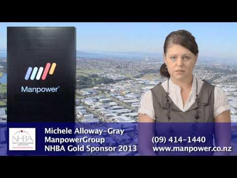 NHBA Gold Sponsor 2013 - ManPowerGroup