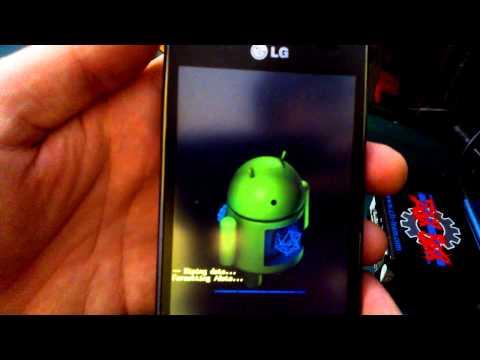 Dr.Celular - LG L7 P705 - Hard Reset - Desbloquear - Resetar