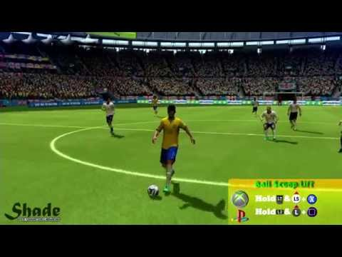 2014 FIFA World Cup Brazil All Skills Tutorial | Xbox & Playstation | HD 1080p