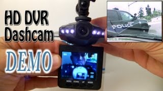 "HD Infrared Dash Cam DVR with 2.5"" LCD Screen DEMO"
