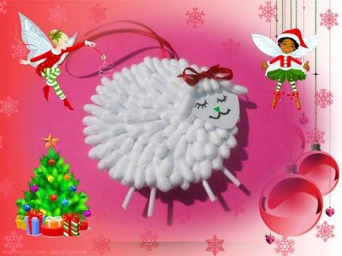 Игрушка своими руками новогодняя овечка