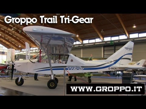 Groppo Trail, Nando Groppo Trail, Nando Groppo Trail lightsport aircraft tri-cycle gear.