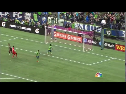 GOAL: Marco Pappa steals the ball and calmly chips it home | Seattle Sounders vs. LA Galaxy