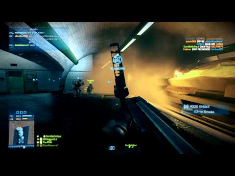 Battlefield 3 MP - WookWook on Pantheon 24-7 Back to Karkand - Operation Metro CQ