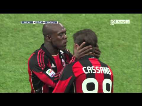 Seedorf Goal on Parma - 12/02/2011