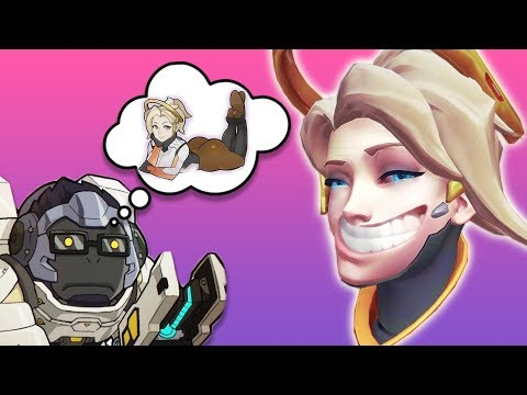 Overwatch: Astrokitty Can't Touch New Mercy's Booty!