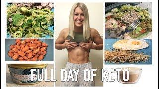FULL DAY OF EATING | KETO DIET