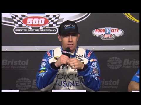 Carl Edwards BMS Food City 500 Winner Interview