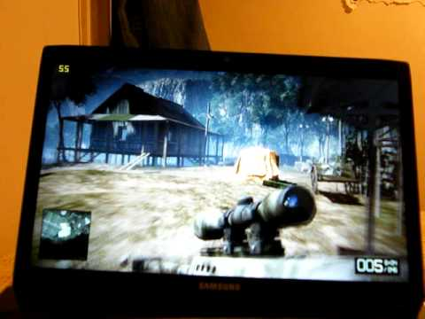Battlefield Bad Company 2 on Samsung R780 laptop.