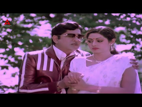 Anr,sridevi Romantic Scene || Sree Ranga Neethulu Movie || Anr,sridevi video